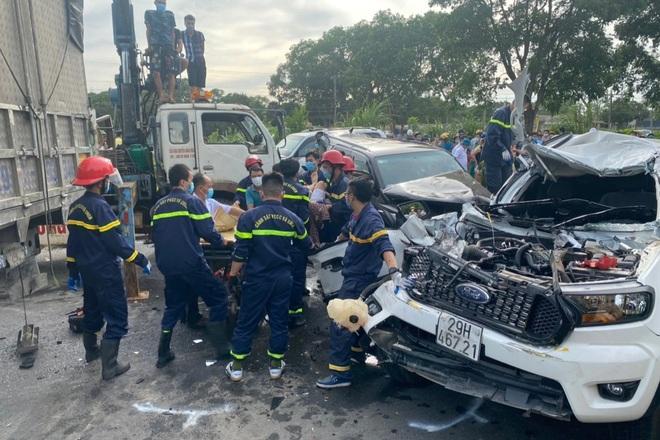 Tai nạn liên hoàn giữa 9 ô tô, 1 người tử vong - 3