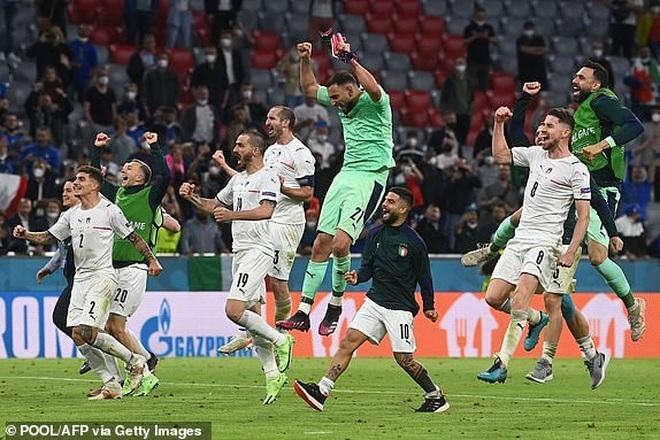 Xuất sắc hạ gục Bỉ, Italia chạm trán Tây Ban Nha ở bán kết Euro 2020 - 1