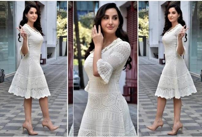 Trang phục màu trắng quyến rũ của minh tinh gợi cảm hàng đầu Bollywood - 7