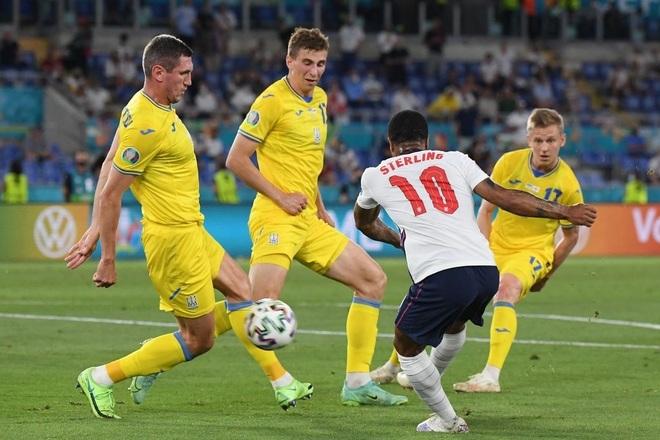 Chống bóng bổng kém, Ukraine thua tan nát trước tuyển Anh - 6