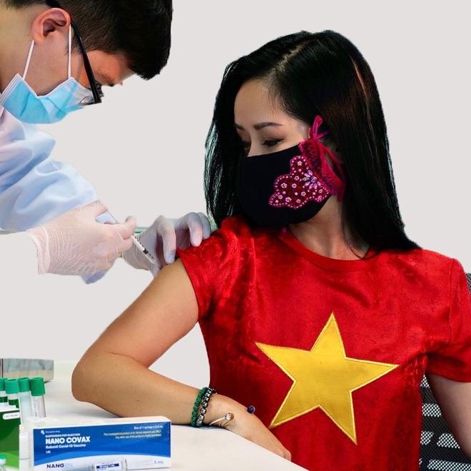 Ca sĩ Hồng Nhung đăng ký cho cả nhà tiêm vắc xin Việt Nam - 1