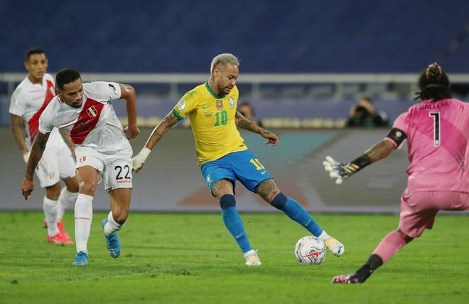 Neymar tỏa sáng giúp Brazil giành vé vào chung kết Copa America - 4