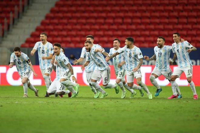 Đánh bại Colombia ở loạt sút luân lưu, Argentina vào chung kết Copa America - 2