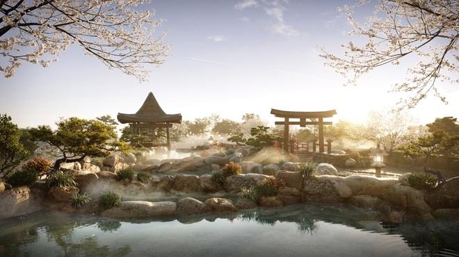 Cận cảnh tổ hợp onsen 1.000 tỷ đồng trong Ecopark, phát triển bởi 3 ông lớn Nhật Bản - 2