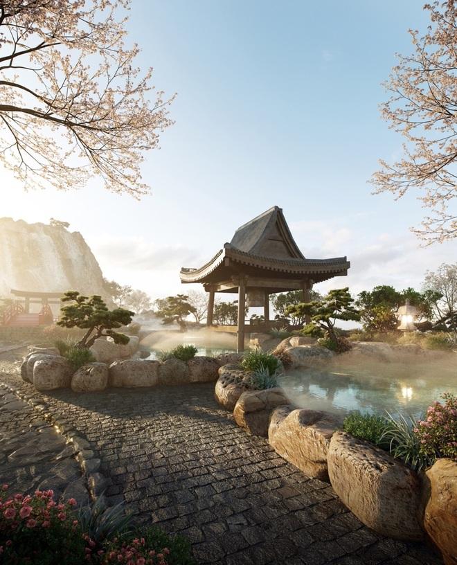 Cận cảnh tổ hợp onsen 1.000 tỷ đồng trong Ecopark, phát triển bởi 3 ông lớn Nhật Bản - 4