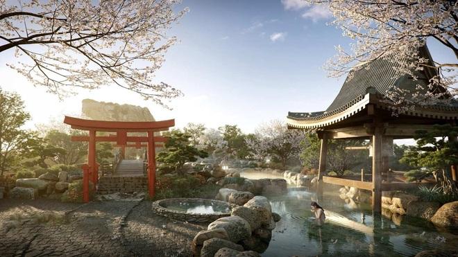 Cận cảnh tổ hợp onsen 1.000 tỷ đồng trong Ecopark, phát triển bởi 3 ông lớn Nhật Bản - 5