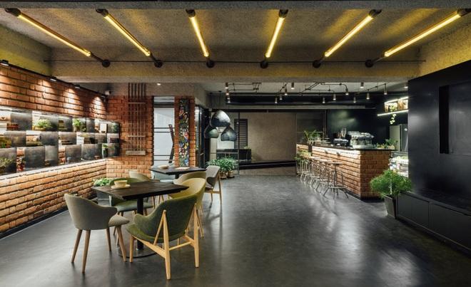 Quán cà phê đa zi năng thiết kế đẹp lạ, bày nhiều tác phẩm nghệ thuật - 1