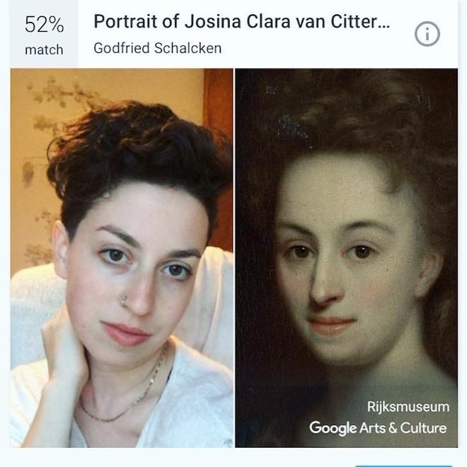 Mẹo kiểm tra ảnh chân dung của bạn giống tác phẩm nghệ thuật nổi tiếng nào - 6