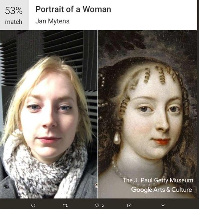 Mẹo kiểm tra ảnh chân dung của bạn giống tác phẩm nghệ thuật nổi tiếng nào - 5