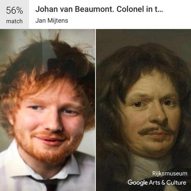 Mẹo kiểm tra ảnh chân dung của bạn giống tác phẩm nghệ thuật nổi tiếng nào - 4