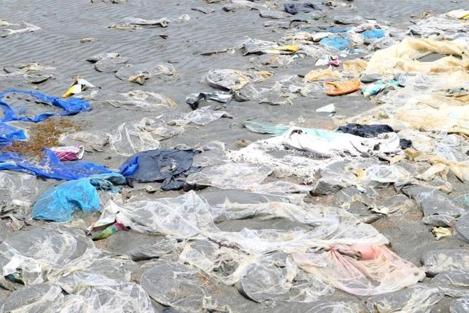 Kinh hãi cảnh rác thải nhựa dày đặc trên đảo ngọc của Quảng Nam - 2