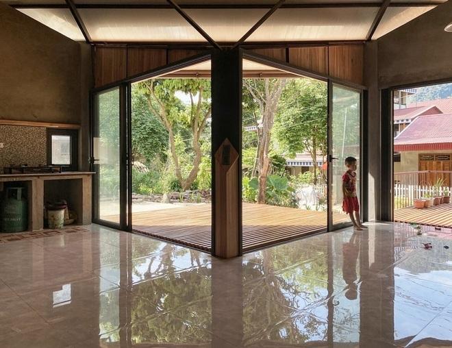 Nhà sàn hiện đại với ống khói cao gần 3 m ở Thanh Hóa - 5