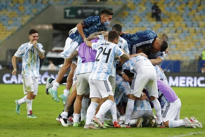 Đánh bại Brazil, Argentina lên ngôi vô địch Copa America 2021 - 1