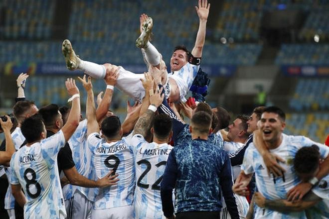 Đánh bại Brazil, Argentina lên ngôi vô địch Copa America 2021 - 2