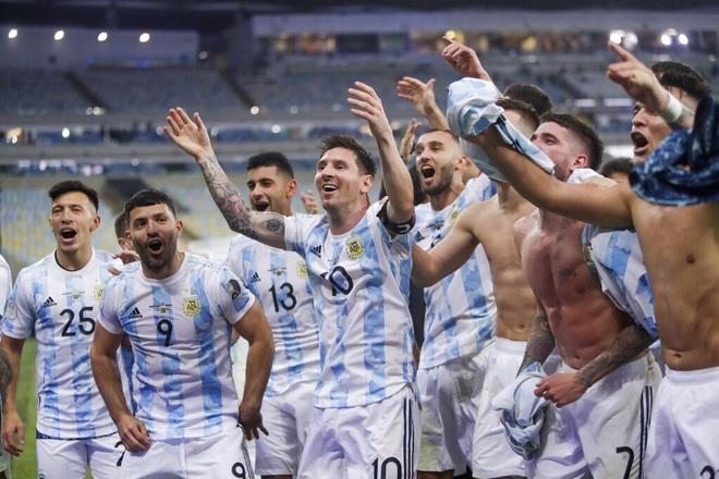 Đánh bại Brazil, Argentina lên ngôi vô địch Copa America 2021 - 3