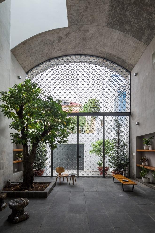 Nhà phố rộng 380 m2 với 3 phòng ngoài trời hình vòm độc đáo ở Sài Gòn - 3
