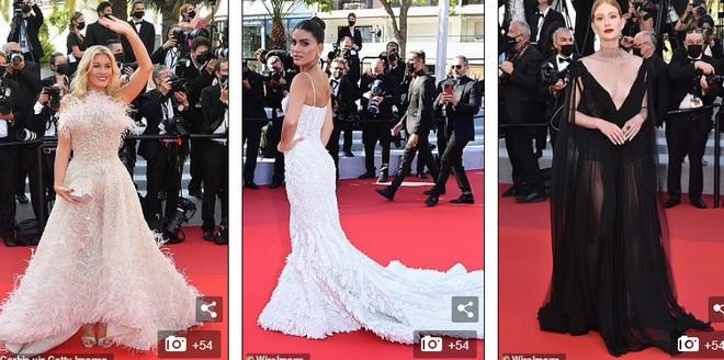 Hoa hậu Thụy Điển khoe vòng một gợi cảm tại LHP Cannes