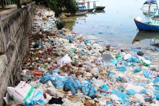 Kinh hãi cảnh rác thải nhựa dày đặc trên đảo ngọc của Quảng Nam - 7