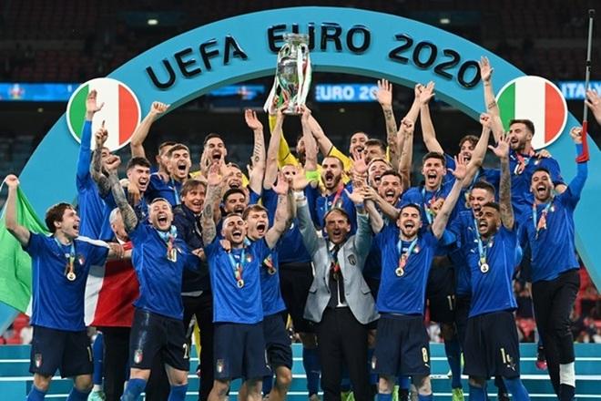 Đội tuyển Italia nhảy vọt trên bảng xếp hạng FIFA khi vô địch Euro 2020 - 2