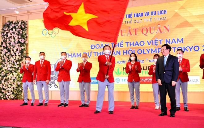 Đoàn thể thao Việt Nam xuất quân dự Olympic Tokyo - 1