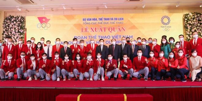 Đoàn thể thao Việt Nam xuất quân dự Olympic Tokyo - 2