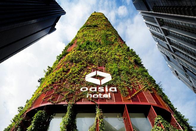 6 tòa nhà xanh ở Singapore được mệnh danh là kỳ quan kiến trúc - 1