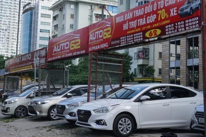 Hà Nội: Chợ ô tô cũ thời chịu lỗ trong đại dịch Covid-19 - 2
