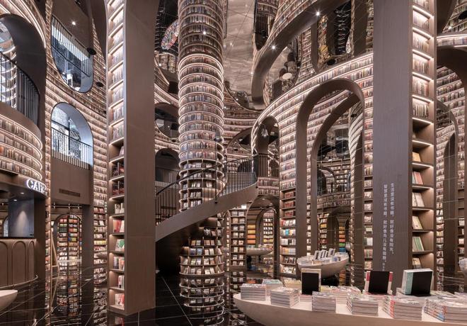 Thư viện vô cực hút khách nhờ tuyệt chiêu đánh lừa thị giác - 2