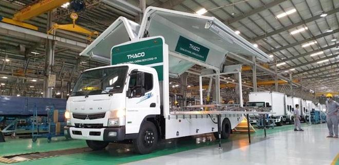 Xe chuyên dụng phục vụ tiêm chủng lưu động Thaco sản xuất có gì đặc biệt? - 5