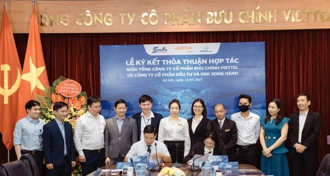 Tổng Công ty Bưu chính Viettel và Công ty Cổ phần Đầu tư  Xuất nhập khẩu Song Hành ký kết hợp tác - 1
