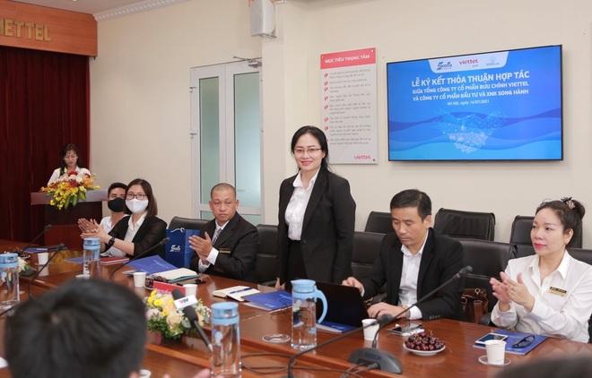 Tổng Công ty Bưu chính Viettel và Công ty Cổ phần Đầu tư  Xuất nhập khẩu Song Hành ký kết hợp tác - 2