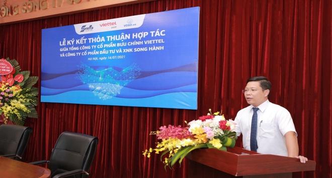 Tổng Công ty Bưu chính Viettel và Công ty Cổ phần Đầu tư  Xuất nhập khẩu Song Hành ký kết hợp tác - 3