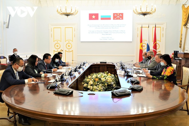Thành phố Saint Petersburg (Nga) thúc đẩy hợp tác với Việt Nam trên tất cả lĩnh vực - 1