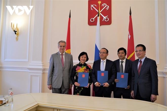 Thành phố Saint Petersburg (Nga) thúc đẩy hợp tác với Việt Nam trên tất cả lĩnh vực - 3