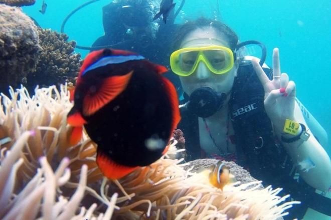 Khám phá rạn san hô muôn sắc màu ở thiên đường biển Kỳ Co- Eo Gió - 2