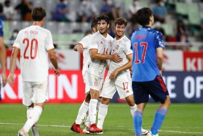 Olympic Nhật Bản bất ngờ gây sốc trước Olympic Tây Ban Nha - 2