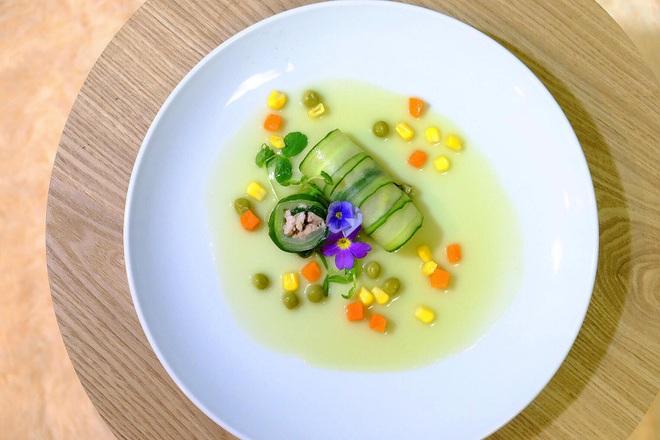 Chàng trai Việt có tài vẽ tranh trên các món ăn - 6