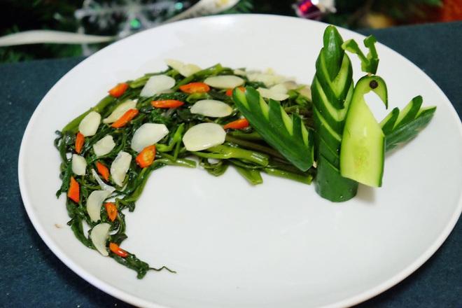 Chàng trai Việt có tài vẽ tranh trên các món ăn - 9