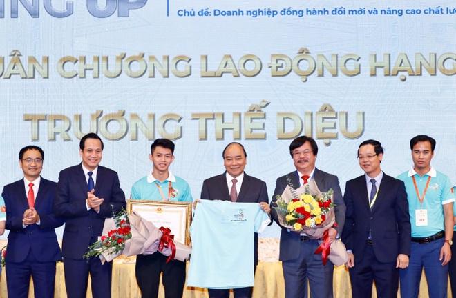 Đại sứ nghề Trương Thế Diệu được nhận lương từ năm thứ 2 học nghề - 3