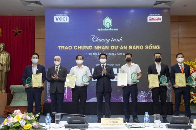 Tập đoàn GFS đại thắng tại giải thưởng Dự án đáng sống 2021 - 1