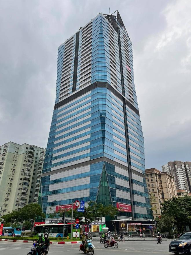 Hà Nội cách ly y tế tạm thời 21 tầng tòa nhà Diamond Flower - 1
