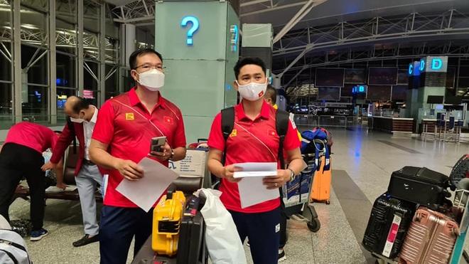 Bộ trưởng Nguyễn Văn Hùng khích lệ đoàn Thể thao Việt Nam dự Olympic - 2