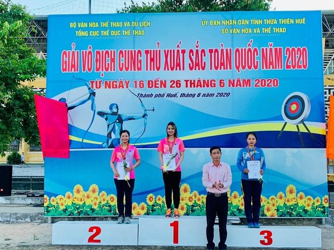 Nhan sắc nữ cung thủ xinh đẹp Việt Nam tham dự Olympic Tokyo - 5