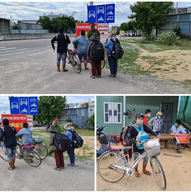Mất việc vì Covid-19, bốn mẹ con đi xe đạp vượt 1.300km về quê - 2