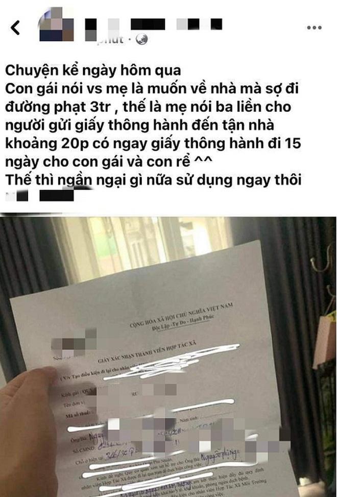 Đề xuất phạt giám đốc cấp giấy thông hành cho con gái 7,5 triệu đồng - 1