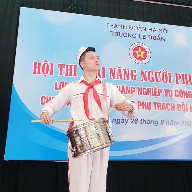 Trần Minh Cường từ bỏ ngành cảnh sát để làm thầy giáo công tác Đội - 3