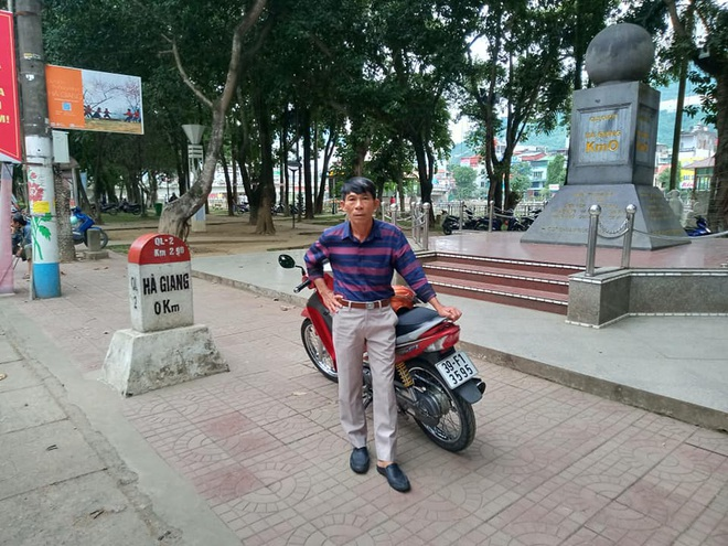 Lão nông U60 ưa xê dịch, bốn lần xuyên Việt bằng xe máy - 1
