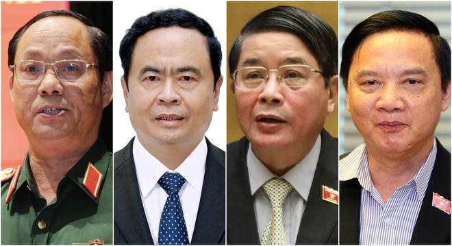 4 Phó Chủ tịch ra mắt Quốc hội khóa XV - 1