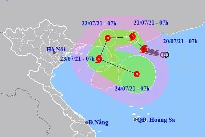 Bão số 3 áp sát đất liền Trung Quốc - 1