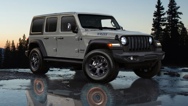 Jeep Wrangler Willys - huyền thoại sống lại! - 4
